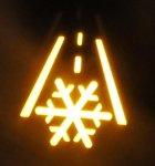 ford focus warning lights snowflake