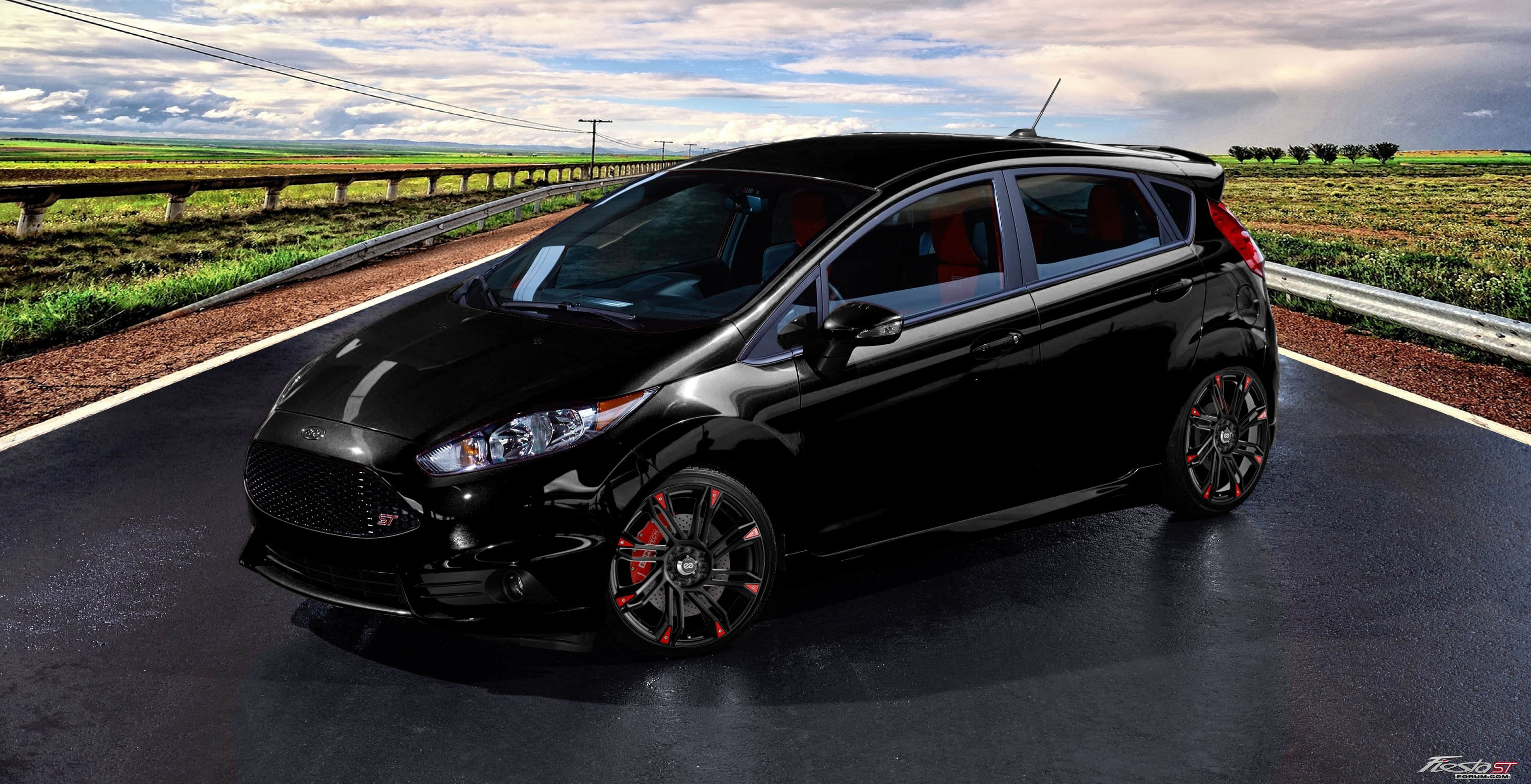 Fiesta St On Rendered Wheels Page 3