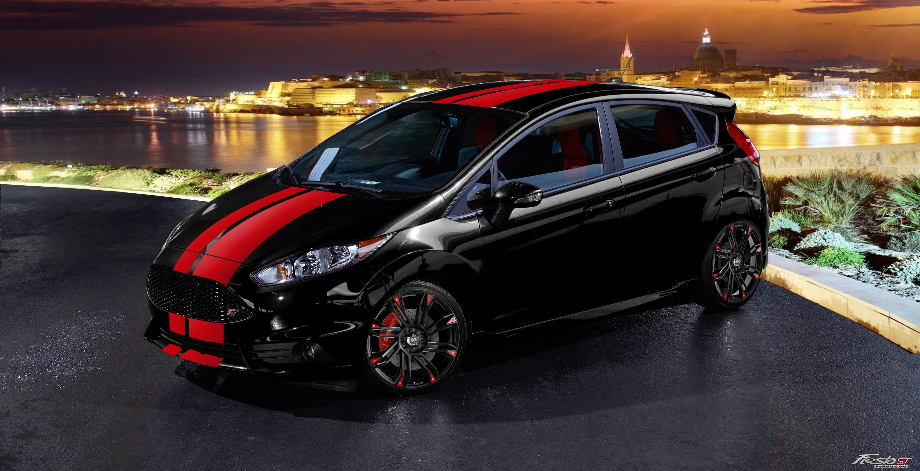 Ford Fiesta St 2013 Wolf Tuning
