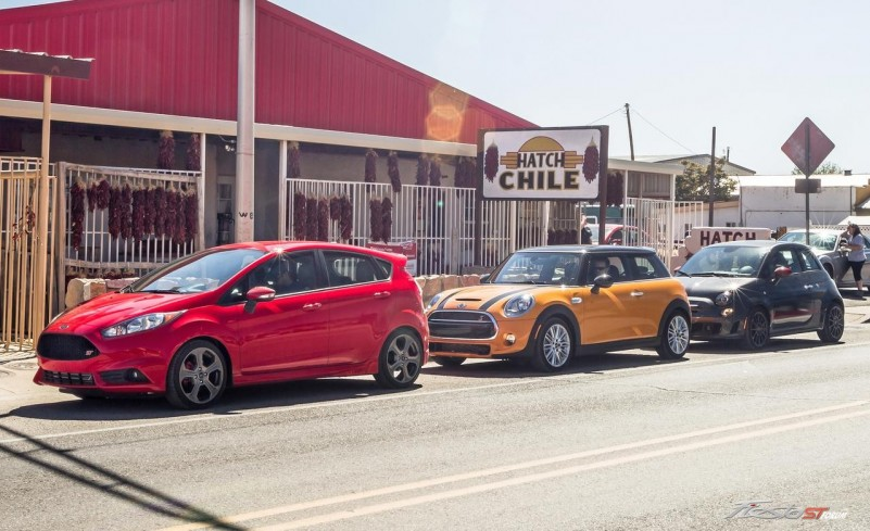 Ford Fiesta St Vs Fiat 500 Abarth Mini Cooper S Hardtop
