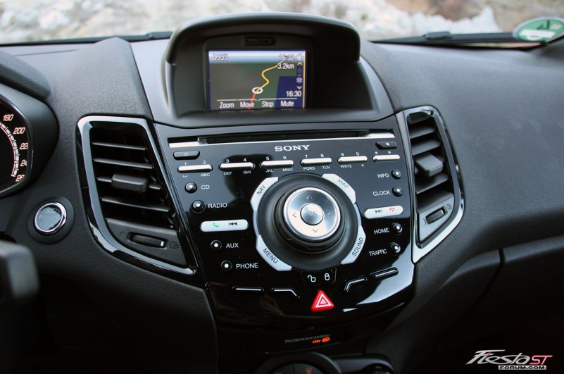 2014 fiesta st gets an enhanced version of the sync voice recognition. Black Bedroom Furniture Sets. Home Design Ideas