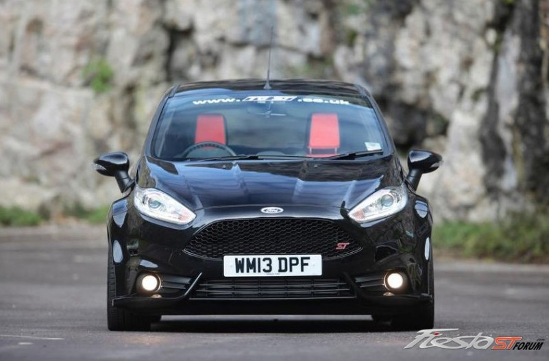 Fiesta St With Wide Body Kit Fiesta St Gallery Pictures Images