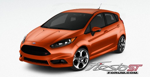 Ford Fiesta St Color Code