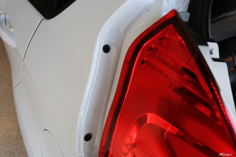 How To Fiesta St Rear Tail Light Bulb Replacement