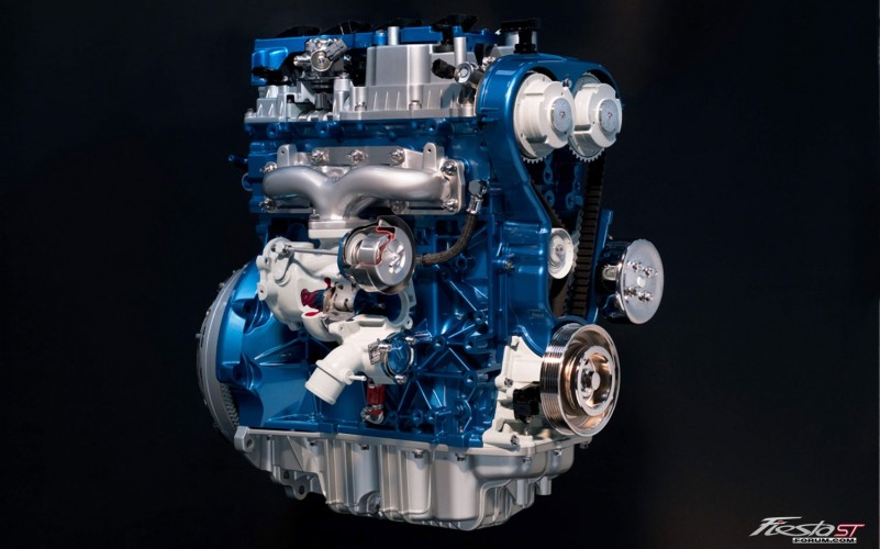 Ford Fiesta ST 16L EcoBoost Engine