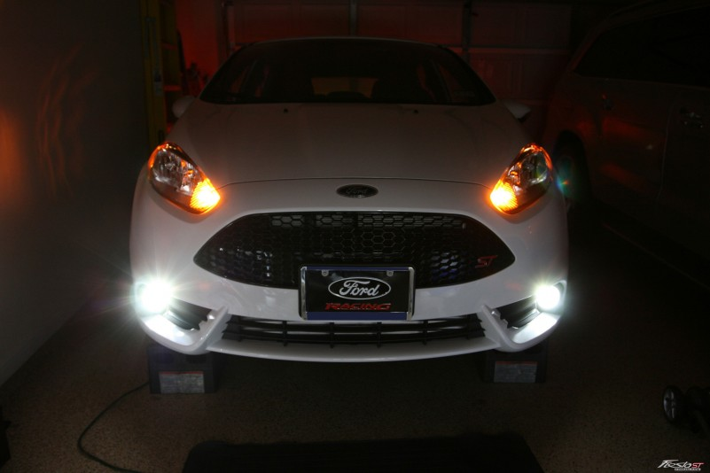 Halogen Light Vs Led >> How-To: Fiesta ST Fog Light Replacement