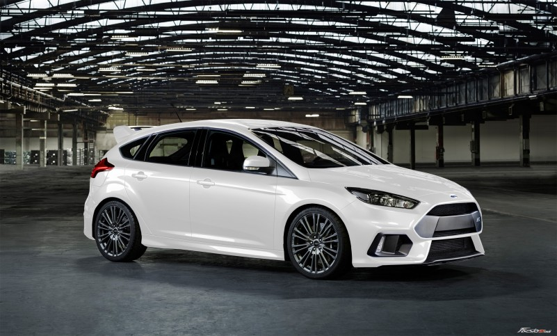 Focus St Colors >> Official: 2016 Ford Focus RS with 320-HP and AWD
