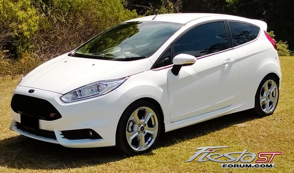 Focus St Forum >> Official Oxford White Fiesta ST Picture Thread