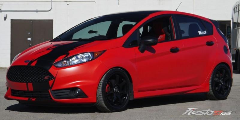 Fiesta St Forum >> Custom Molten Orange Fiesta ST - Fiesta ST Gallery ...