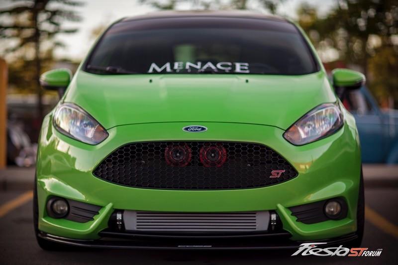 2014 Green Envy Fiesta ST